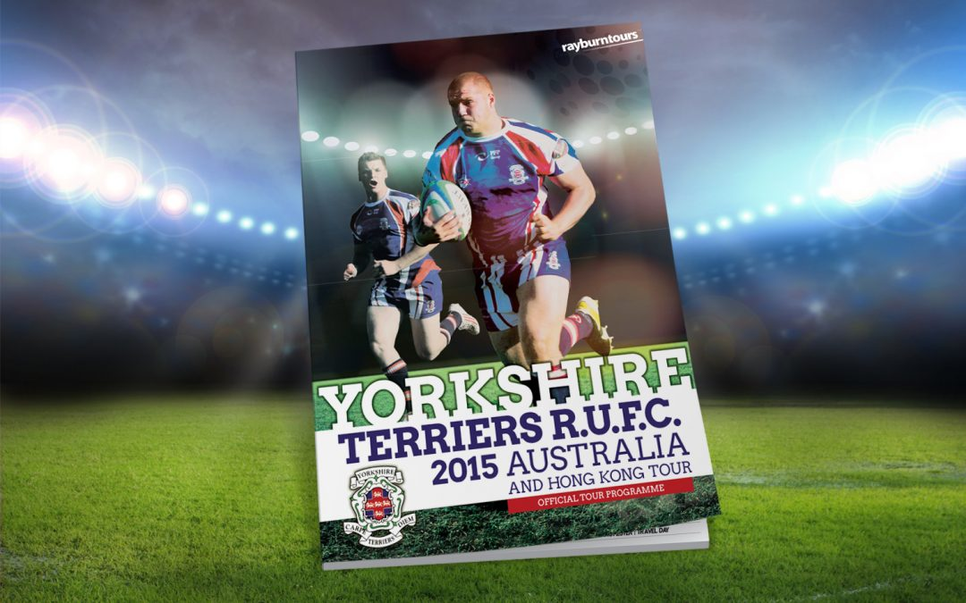 Yorkshire Terriers Rugby Tour Programme