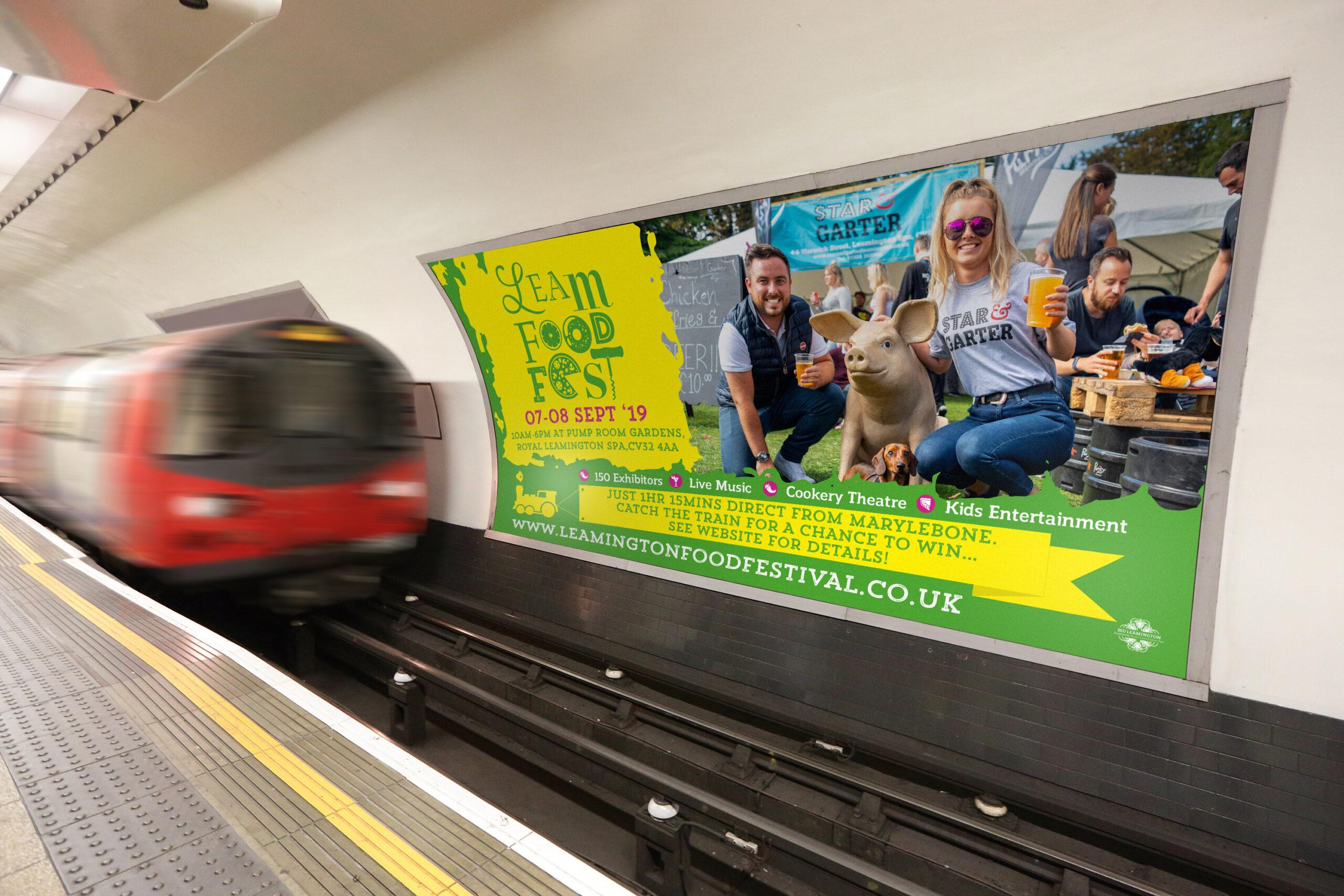 London Underground Advert
