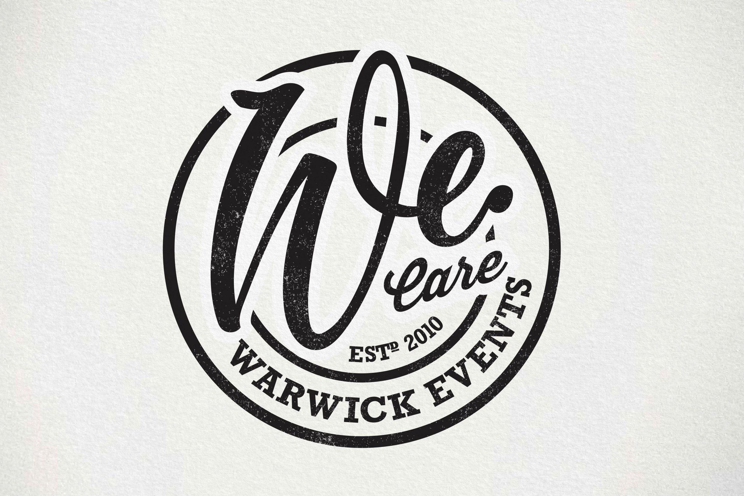 Warwick Events Branding